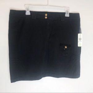 Indigenous Black Shoreline Skirt Organic C…